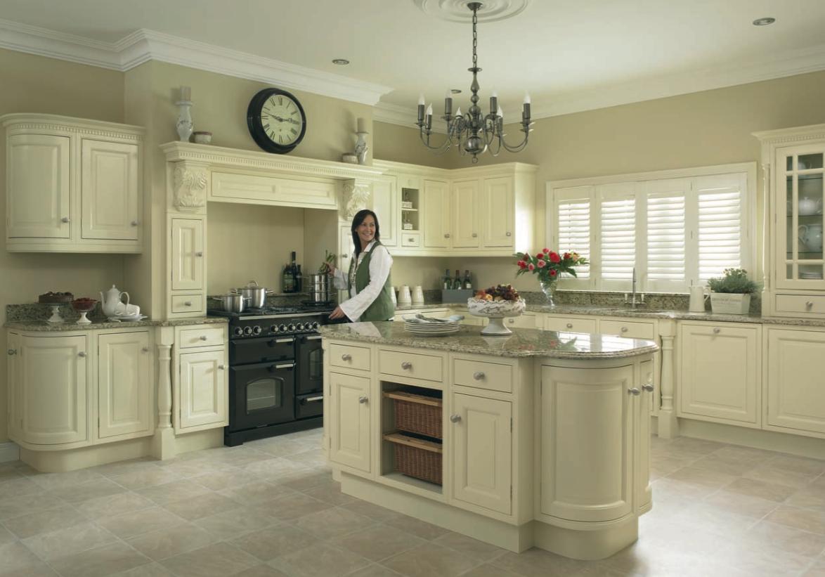 Traditional White Kitchens Photos